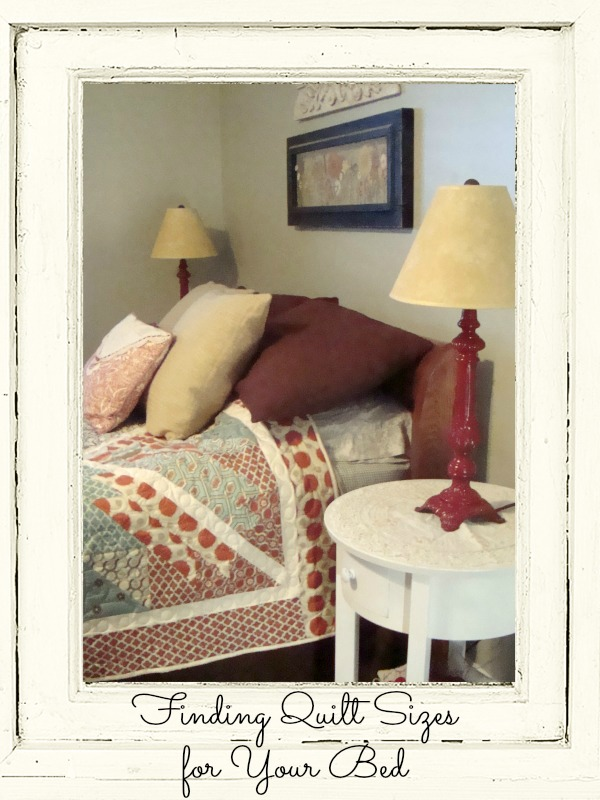 How to Measure your bed to determine quilt sizes | patchworkposse.com