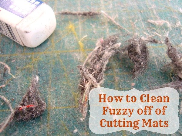 Cleaning your rotary cutting mat | patchworkposse.com