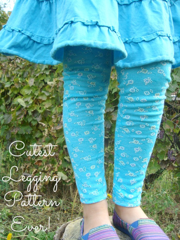 cutest legging pattern ever by Go To Patterns | pattern review | patchworkposse.com