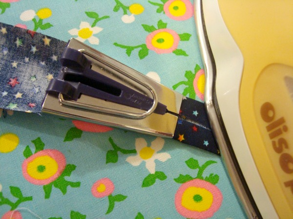 iron your hem tape when it coming out of the tip