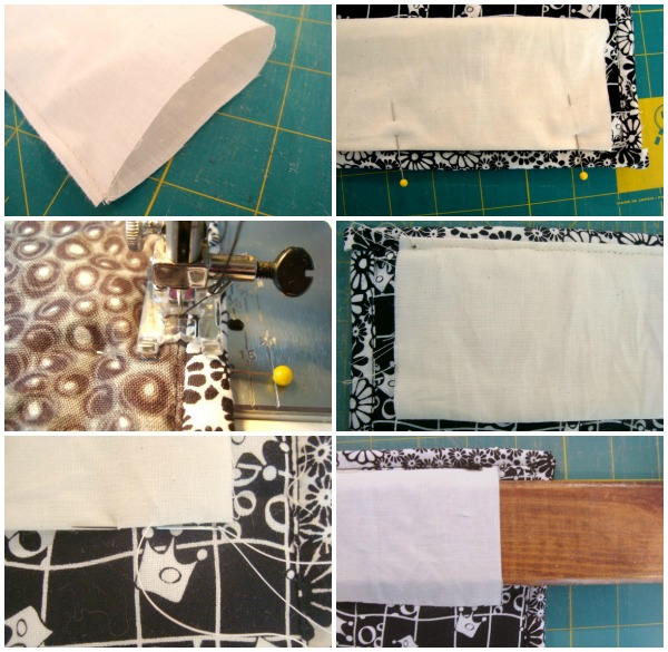 How to sew a quilt sleeve to hang your quilt with / patchworkposse.com