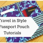 Travel in style- 8 passport pouch tutorials to sew | patchworkposse.com