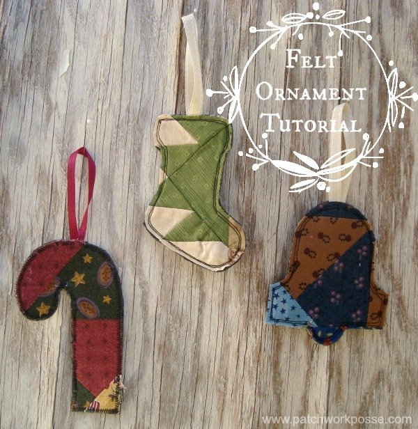 felt ornament tutorial