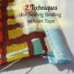 How to Sew Bias Tape- 2 Techniques