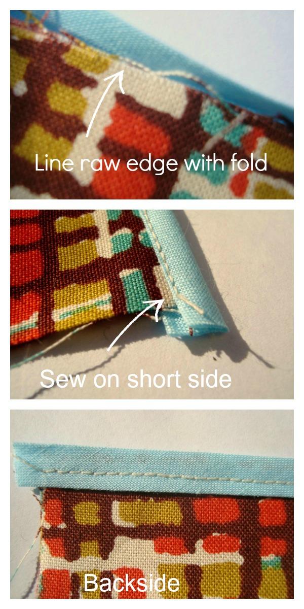How to sew Hem Tape