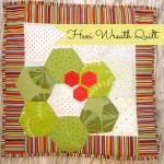 Hexagon Wreath Quilt Tutorial