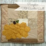 Hexagon Pumpkin Quilt Tutorial