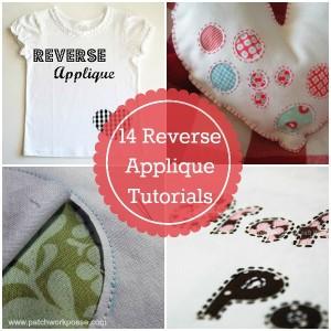 reverse applique tutorials