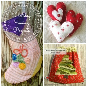 Simple Holiday Sewing Projects