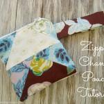 Zipper Change Pouch Tutorial