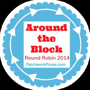 Round Robin 2014 | 12 designers | 12 Quilt Blocks | patchworkposse.com