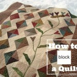 Blocking and How to Square up Your Quilt