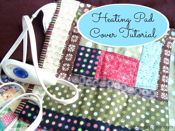 Heating Pad Cover- 52 UFO Quilt Block Pick UP