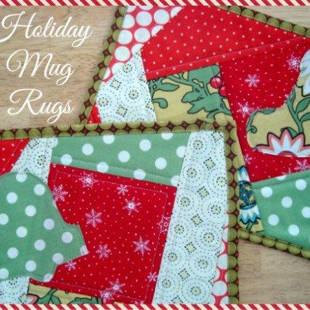 mug rug tutorial