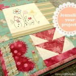 patchwork quilt journal. How do you keep track of your sewing projects? patchwork posse #quilt #journal