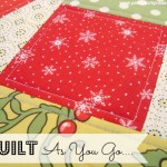 quilt as you go tutorial #quilt #machinequilt patchworkposse.com