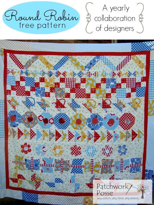 Round Robin Free Quilt Pattern