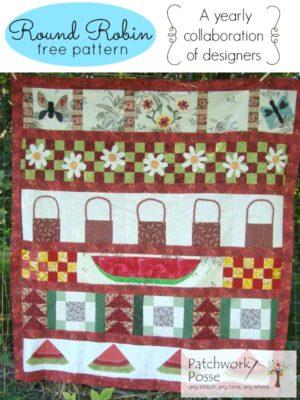 round robin #4 free quilt pattern