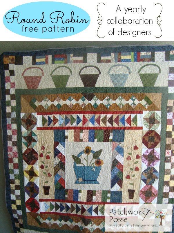Round Robin #1- Free Quilt Pattern