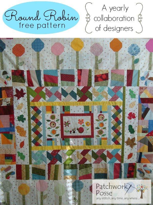Round Robin #2- Free Quilt Pattern