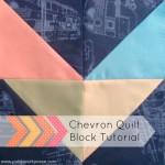 chevron quilt block tutorial |5 inch squares | patchwork posse