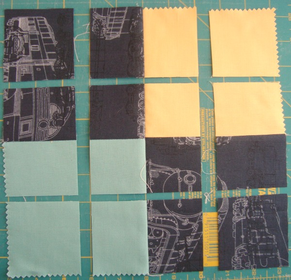 disappearing 4 patch quilt block tutorial | patchwork posse