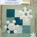 snowflake hexagon quilt tutorial. Included templates! | patchwork posse