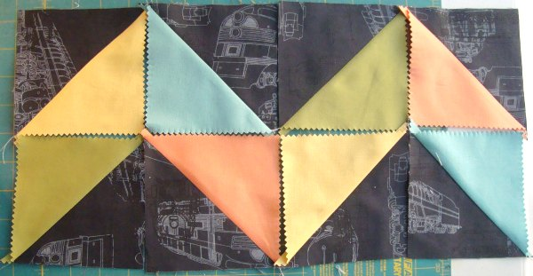 chevron quilt block tutorial |5 inch squares | patchwork posse