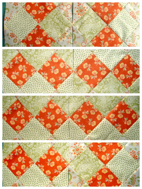 Disappearing 16 patch quilt block tutorial   patchwork posse