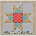 Ohio Star Quilt Block by Tessa