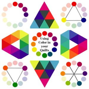 Using Color in Your Quilts- all about the color wheel