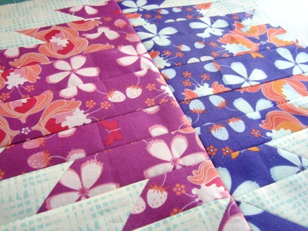 delectable mountai quilt block | round robin | patchwork posse #quilting #quiltblock