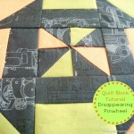 disappearing pinwheel quilt block tutorial | patchworkposse