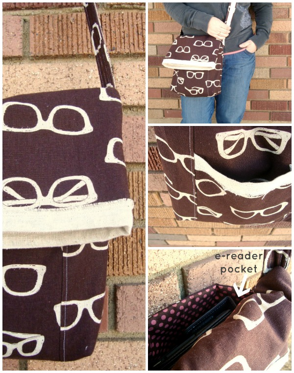 messenger bag tutorial with ipad pocket | patchworkposse.com