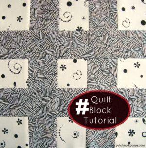 hashtag quilt block tutorial   patchwork posse