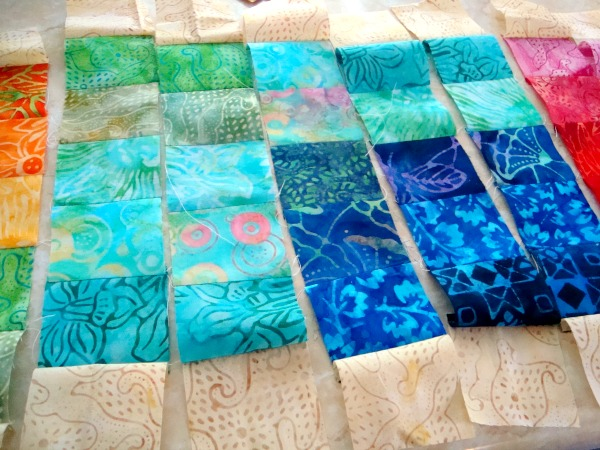 olympic table runner tutorial   patchwork posse #quilt #olypicssochi