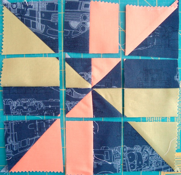 Disappearing Pinwheel Quilt Block Tutorial