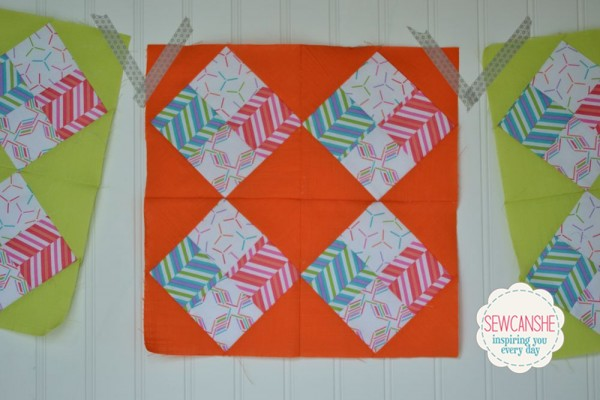 Round Robin Block 1 | Sew Can She | Patchwork Posse