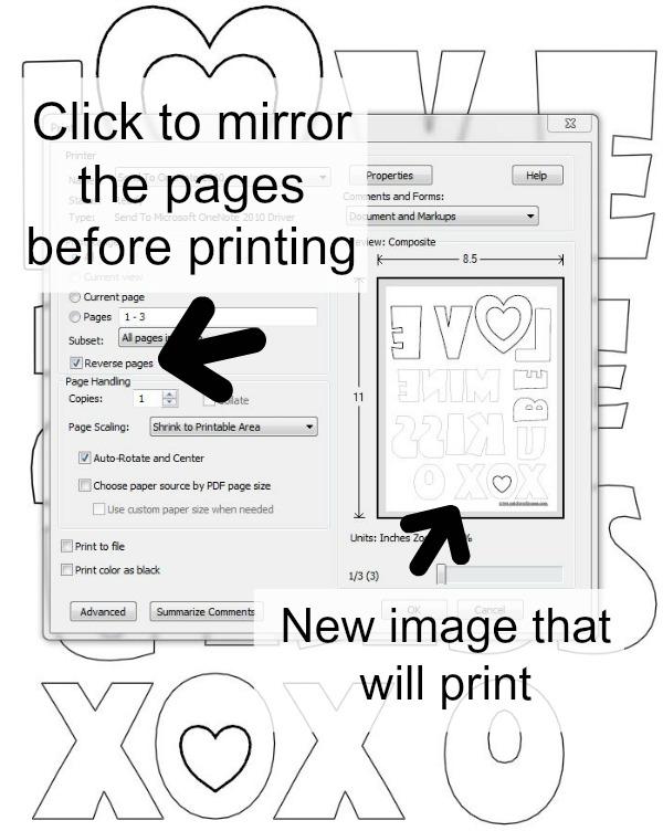how to mirror your applique tutorial | patchworkposse.com