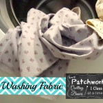 washing fabric- before or after you sew it? Todays topic for pre-k patchwork on patchwork posse