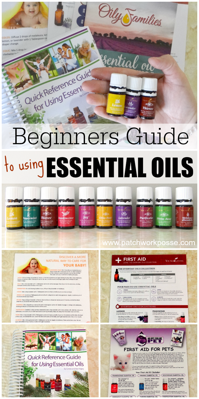 beginners guide to using essential oils
