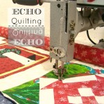 Echo Machine Quilting- How to