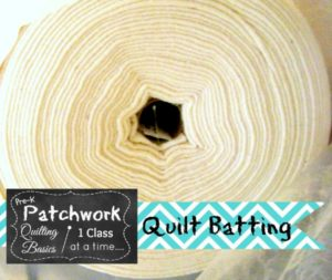 quilt batting- what's in your roll? | Patchwork Posse #quilt #diy #sewing