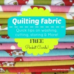 All About Quilt Fabric and Printable Reminder Cards