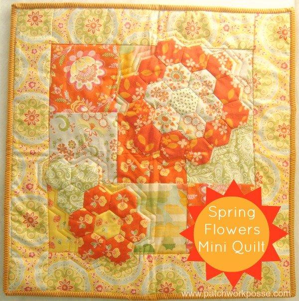 Hexagon flower quilt tutorial   patchwork posse #quilt #hexagon