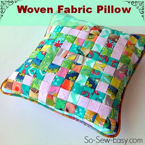 wovenfabricpillow