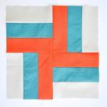 Boxy Pinwheel quilt block | round robin | patchwork posse