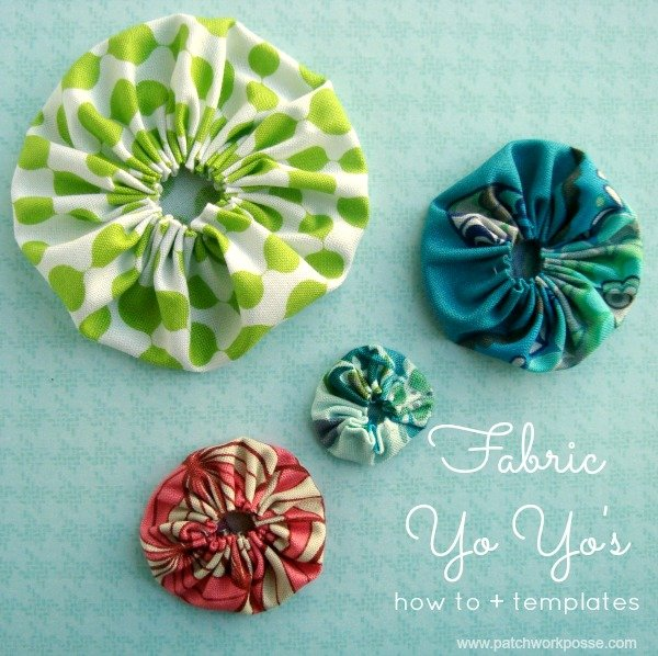 Free Yo Yo Craft Patterns