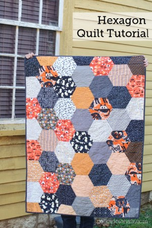 Hexagon Quilt Pattern 20 Designs and Ideasto Sew Your Next Hexie Quilt : quilt patterns images - Adamdwight.com