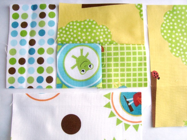 how to sew a log cabin quilt block   patchwork Posse